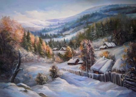 Iarna argintie / Bulgaru Anca