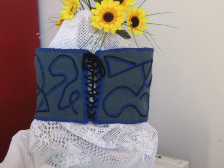 corset brodat imag 1 / Baluta Agafia