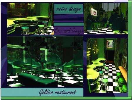 restaurant retro / Ciolan Valentina