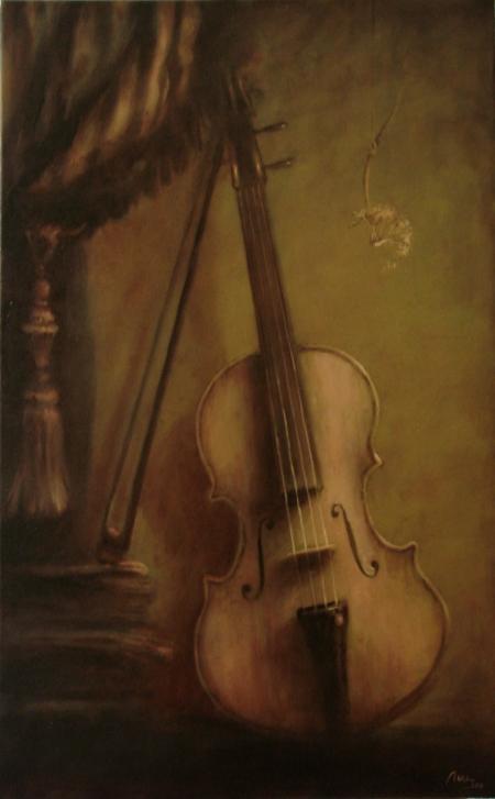 natura statica cu vioara / Deliu Doru Cristian