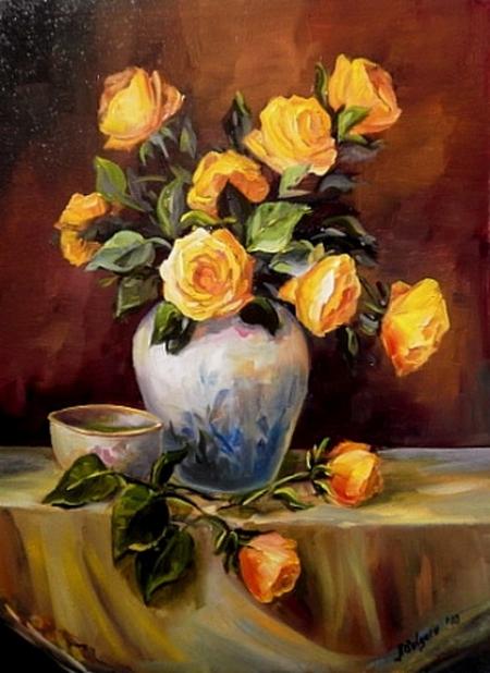 Trandafiri aurii / Bulgaru Anca