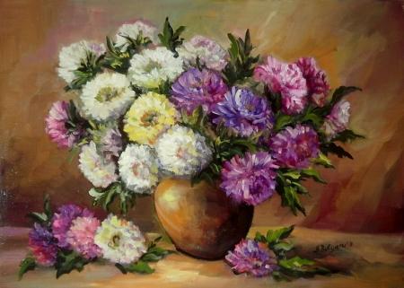 Toamna florilor / Bulgaru Anca