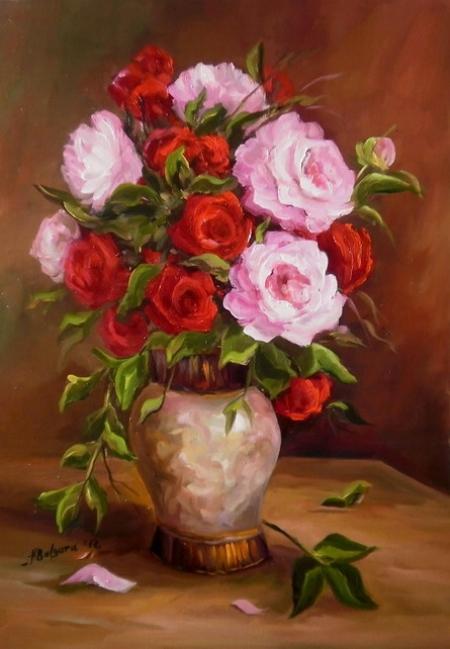 Bujori si trandafiri / Bulgaru Anca