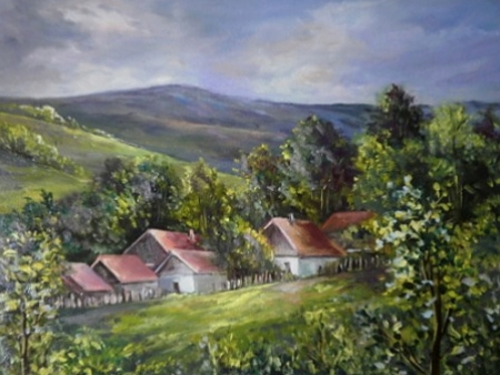 La Sirnea dupa ploaie / Bulgaru Anca