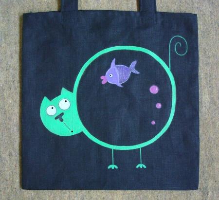 torba cat aquarium / Gangal Anastasia