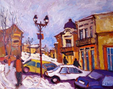 Iarna pe strada Savenilor / Spaiuc George