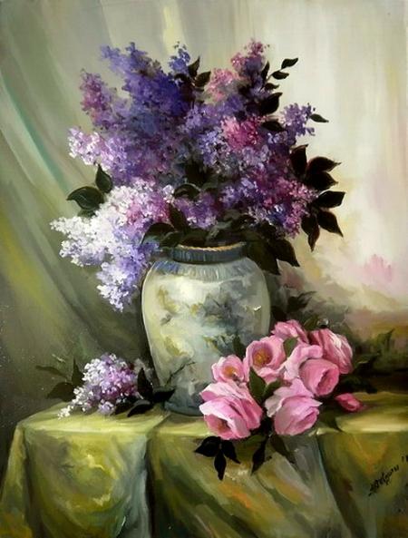 Eleganta in violet / Bulgaru Anca
