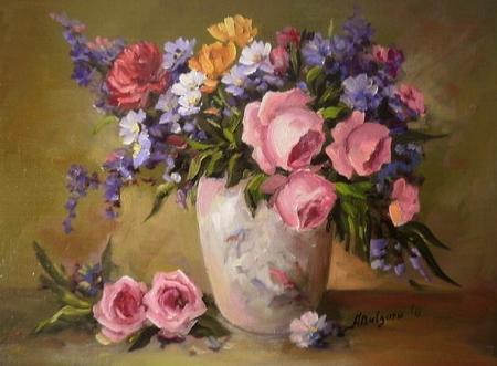 flori de gradina / Bulgaru Anca