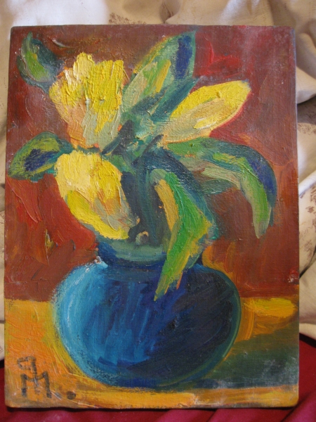 Flori galbene 2 / PLĂVEȚI MIHAI