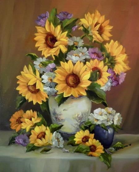 Florile soarelui / Bulgaru Anca