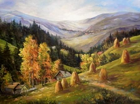 Toamna in munti / Bulgaru Anca