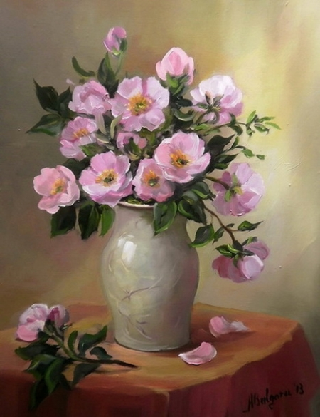 Flori de macies / Bulgaru Anca
