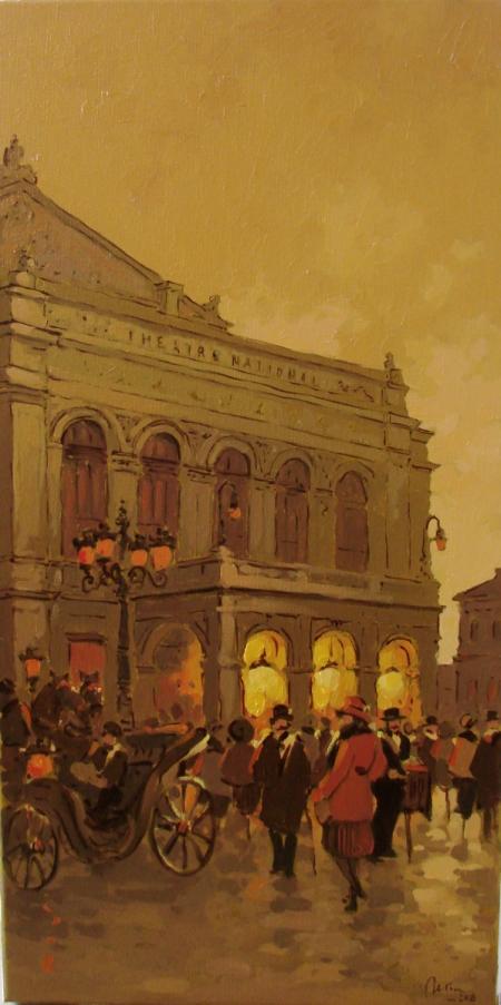 Vechiul Teatru National ,Bucurestiul de altadata / Deliu Doru Cristian