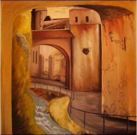 dupa ziduri-bastionul kraft Brasov / Ciolan Valentina