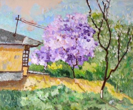 Copacul din strada Smardan / Spaiuc George