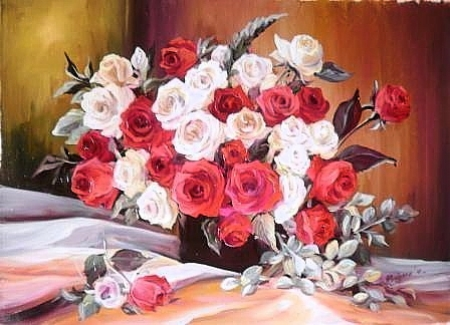 Trandafiri de martisor / Bulgaru Anca