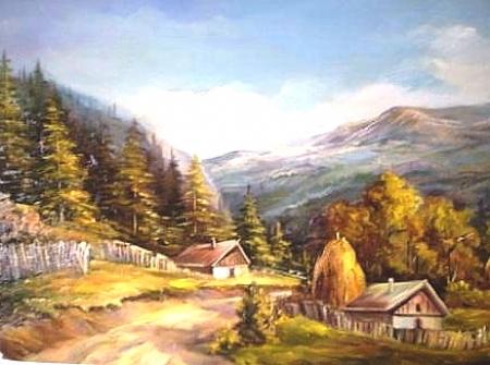 Toamna la munte / Bulgaru Anca