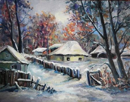Pe ulita cu iarna  / Bulgaru Anca