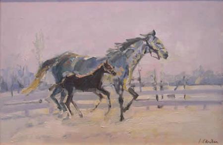 Iarna cu cai / Candea Daradici Iulia