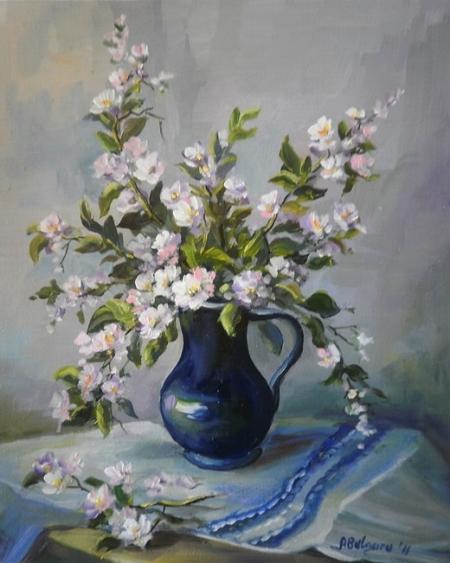 Ulcica albastra cu flori de cires / Bulgaru Anca