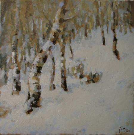 Iarna printre mesteceni / Deliu Doru Cristian