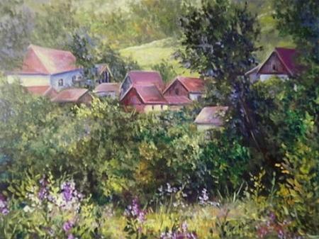 Pe dealul Aroneanului / Bulgaru Anca