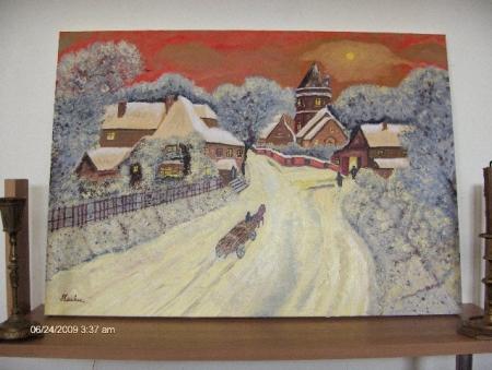 Iarna in satul meu / Carabus Sorin