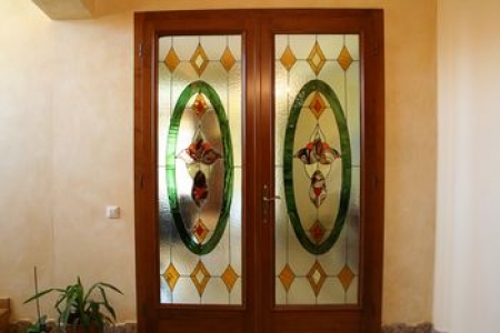 stained glass door / Rob-Sonea  Oana