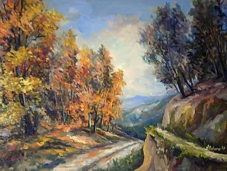 Poteci colorate cu vara / Bulgaru Anca