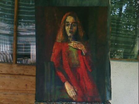 portret de femeie / PLĂVEȚI MIHAI
