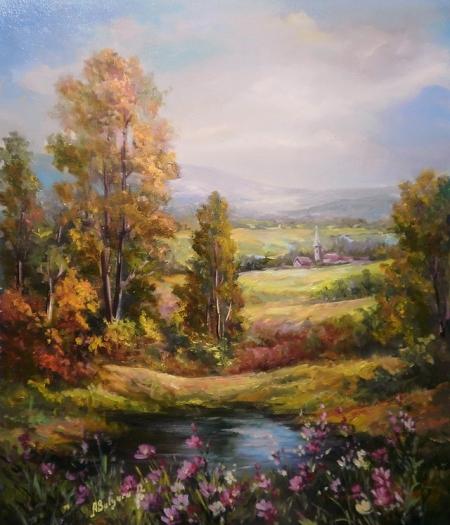 Culorile verii / Bulgaru Anca