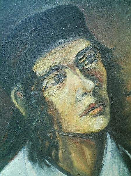 Autoportret- 2004 (detaliu) / PLĂVEȚI MIHAI