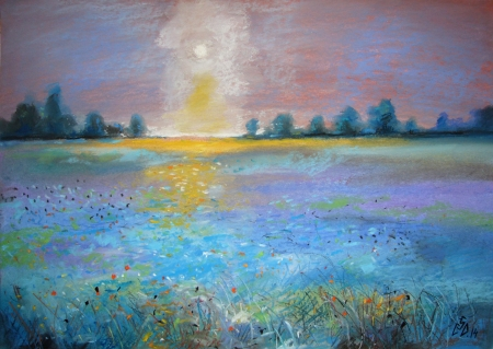 Blue Field 1 / Calinoiu  Gabriela