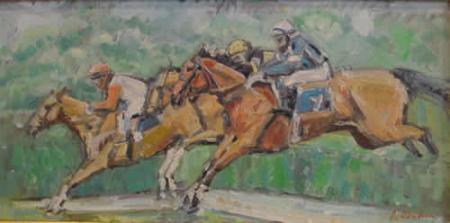 Cursa de cai / Candea Daradici Iulia