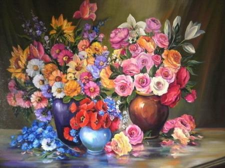 Bucuria florilor / Bulgaru Anca