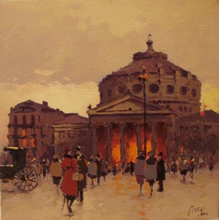 Ateneul Bucurestiului vechi / Deliu Doru Cristian