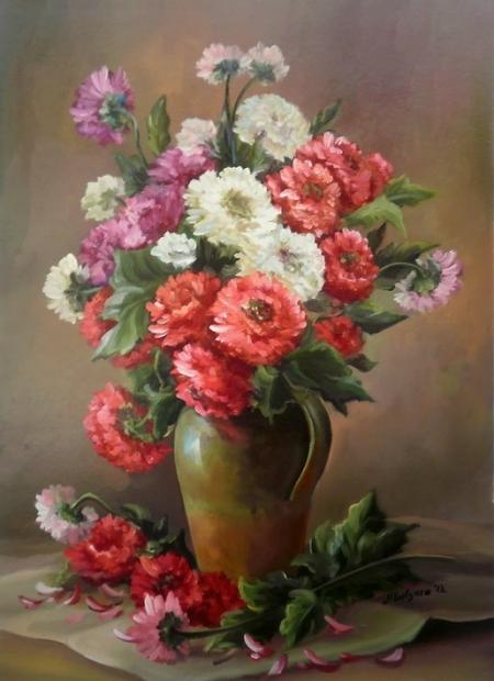 Florile toamnei / Bulgaru Anca