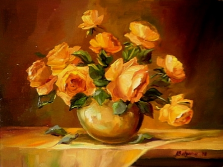 Trandafiri oranj / Bulgaru Anca