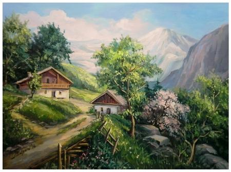 UNDEVA IN MUNTI  / Bulgaru Anca