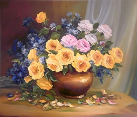 Florile dorului / Bulgaru Anca