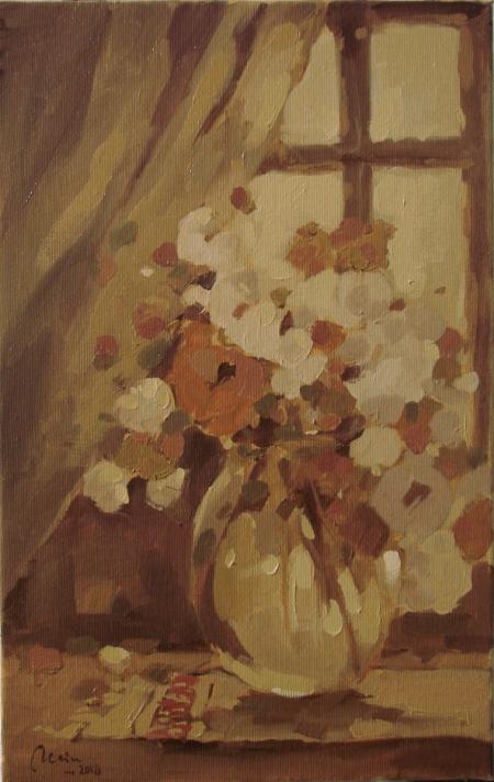 Flori de vara in geam / Deliu Doru Cristian