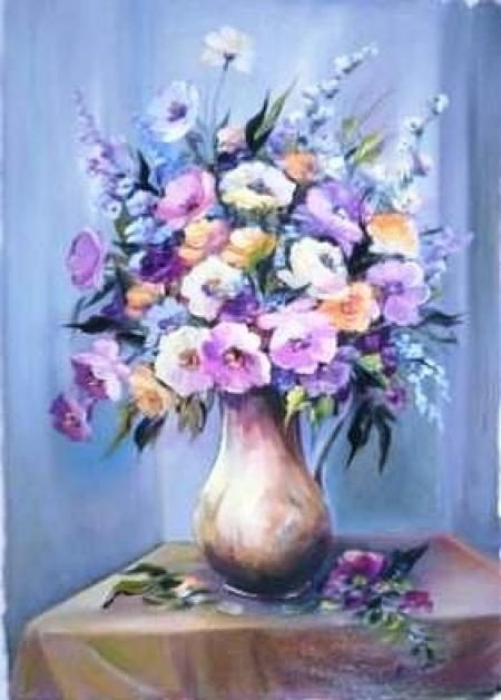 Flori de primavara / Bulgaru Anca