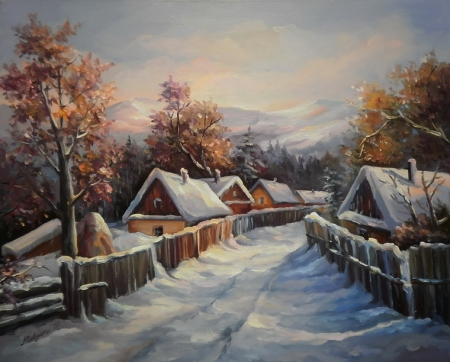 Asfintit de iarna / Bulgaru Anca