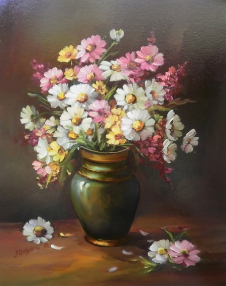 Margarete colorate cu vara / Bulgaru Anca