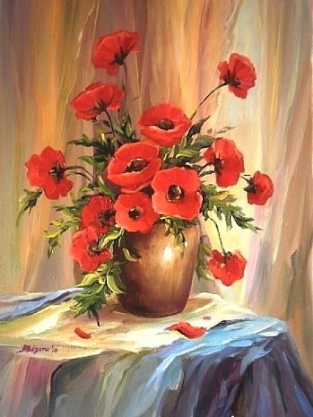 Anemone rosii / Bulgaru Anca