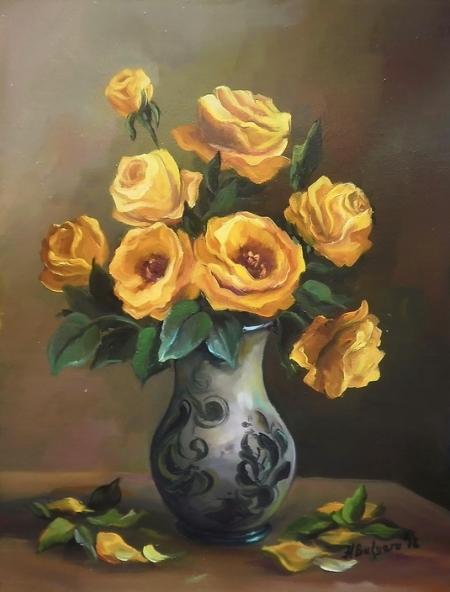 trandafiri galbeni / Bulgaru Anca