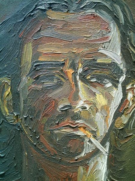 Autoportret- 2006 (detaliu) / PLĂVEȚI MIHAI