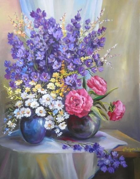 Primavara florilor / Bulgaru Anca
