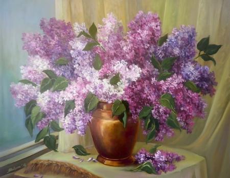 Liliac inflorit / Bulgaru Anca