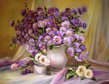 Imortele violet / Bulgaru Anca